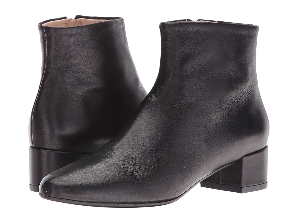 Summit by White Mountain - Jordie (Black Leather) Women's Shoes