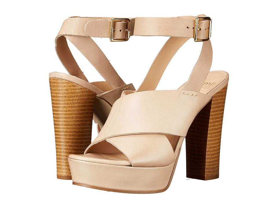 Summit by White Mountain - Valera (Light Taupe Leather) High Heels