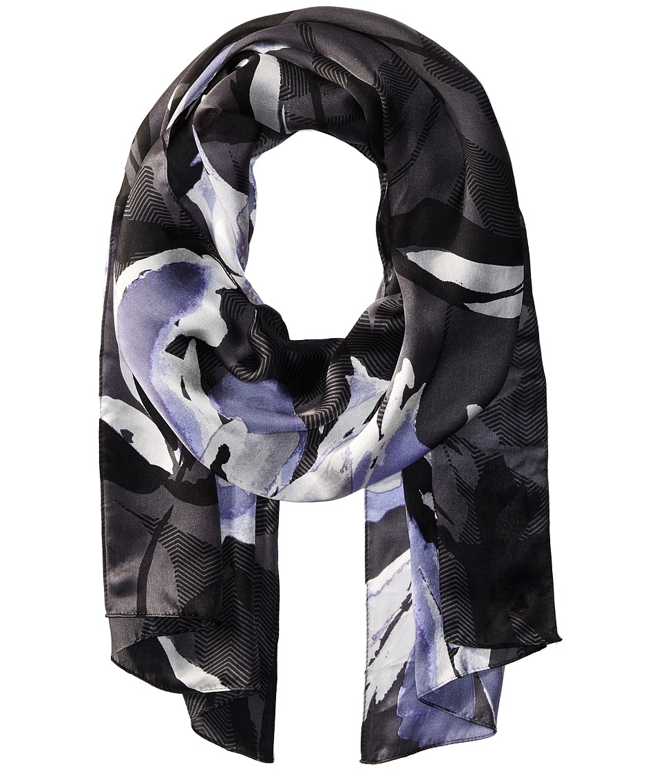 Vince Camuto - Zigzag Splash (Dark Shadow) Scarves