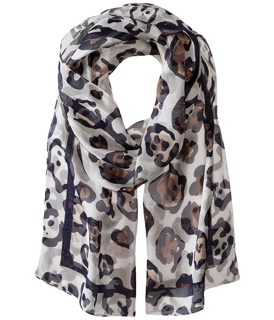 Vince Camuto - Classic Spots (Evening Blue) Scarves