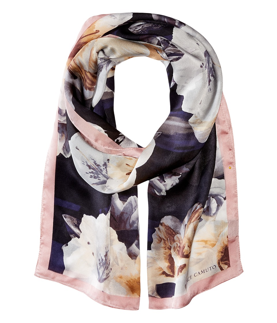 Vince Camuto - Photoreal Floral (Dark Shadow) Scarves