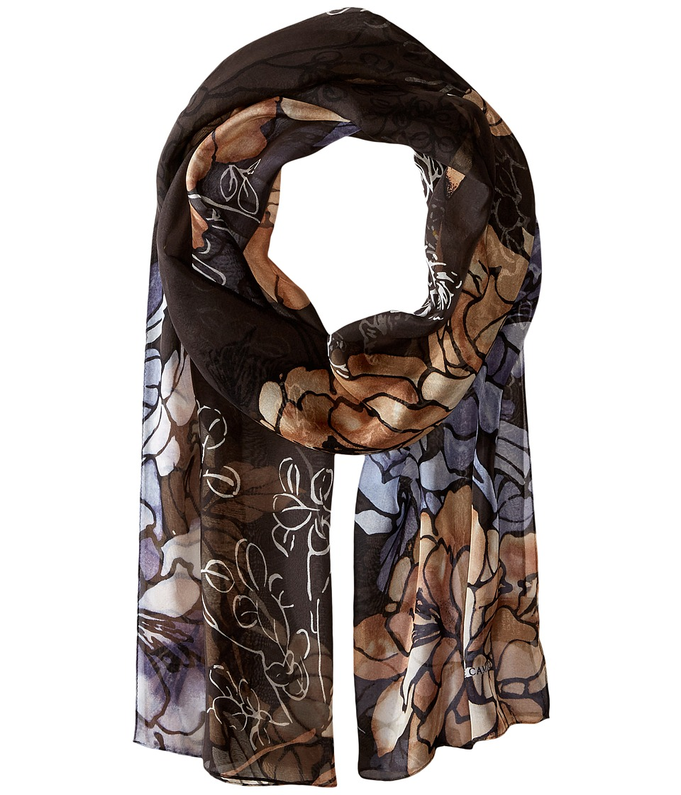 Vince Camuto - Free Floral (Dark Shadow) Scarves