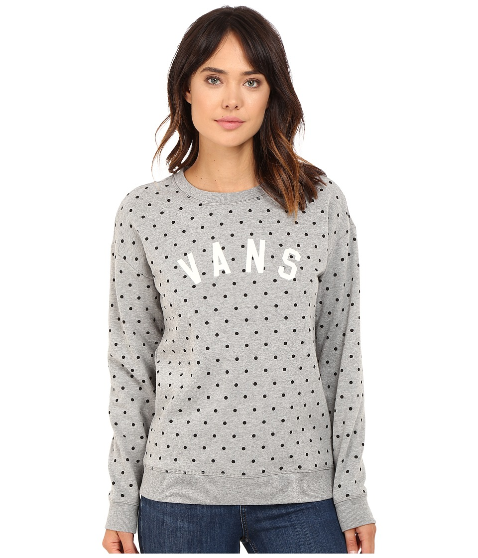 Vans - Surveillance Crew (Grey Heather) Women's Fleece