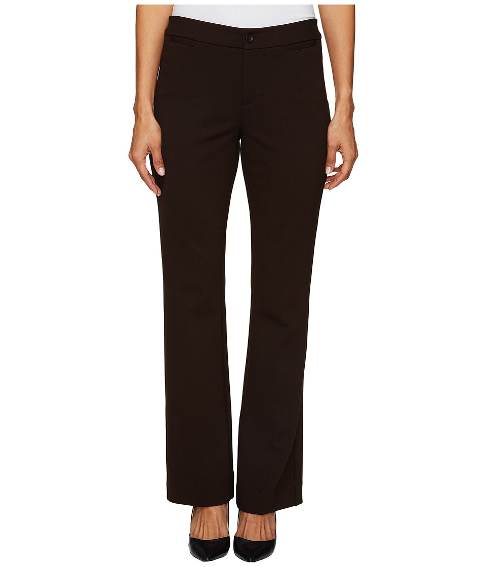 NYDJ Petite - Petite Michelle Ponte Trousers (Ganache) Women's Dress Pants