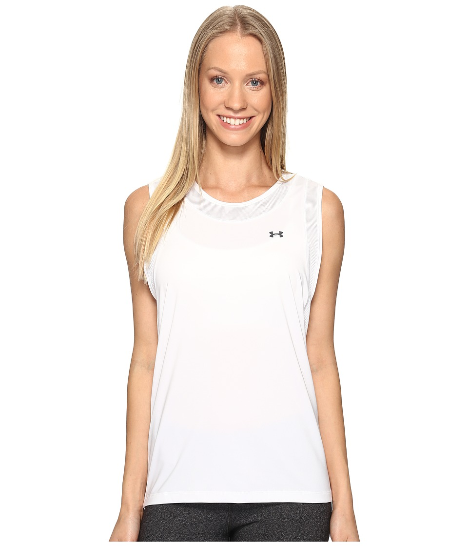Under Armour Armour Sport Muscle Tank Top (White/White) Women