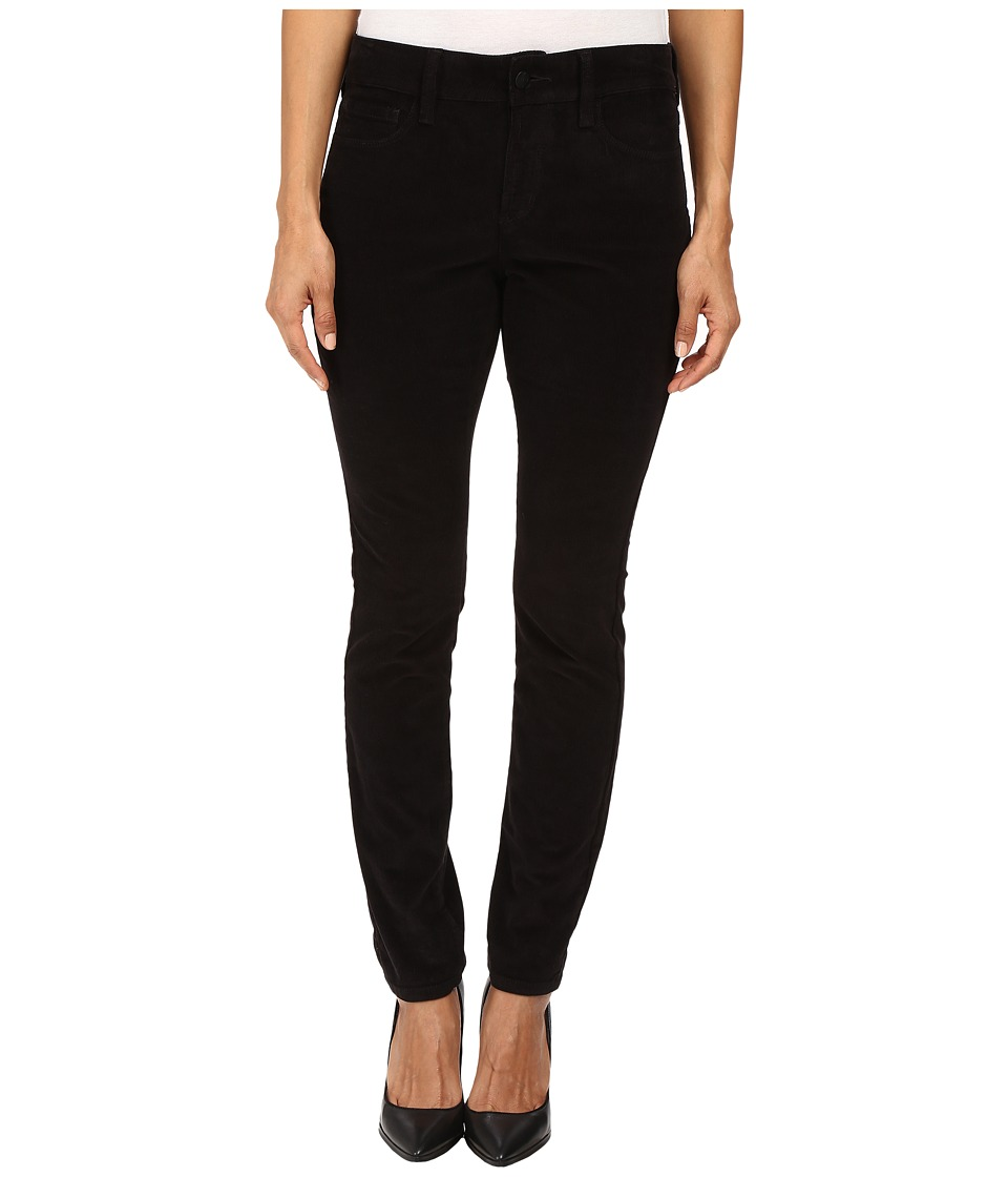 NYDJ Petite - Petite Alina Leggings Jeans in Corduroy in Black (Black) Women's Jeans
