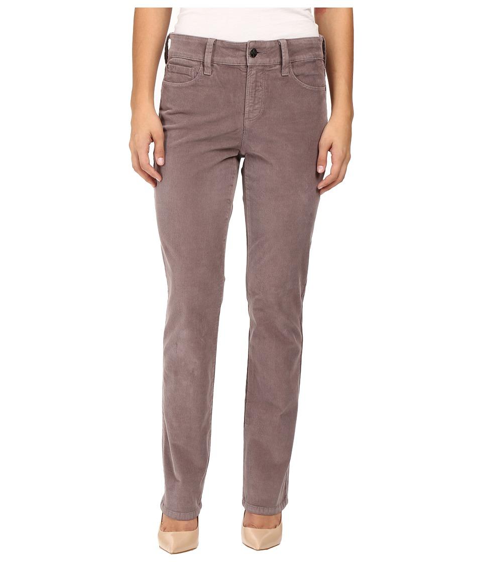 NYDJ Petite - Petite Marilyn Straight Jeans in Corduroy in Alder (Alder) Women's Jeans