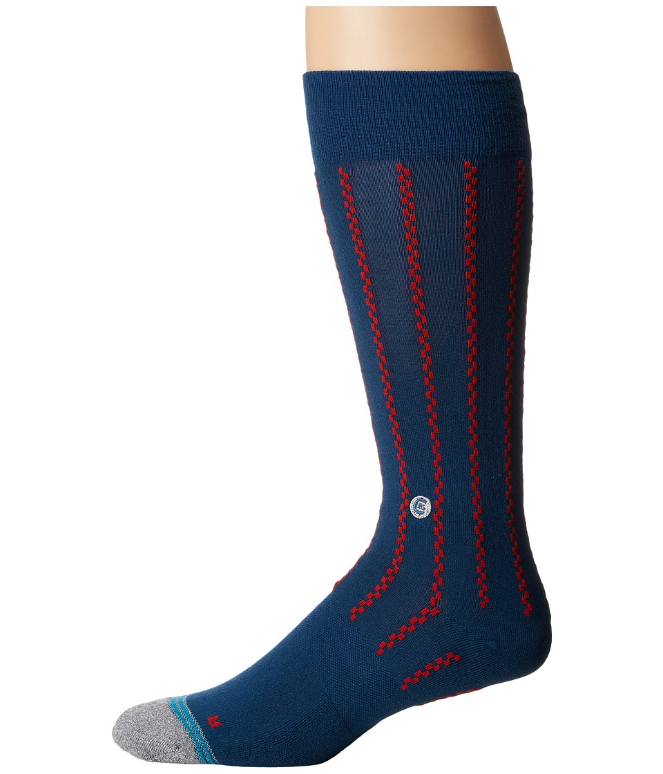 Stance - Vintage Cubs (Blue) Men's Crew Cut Socks Shoes