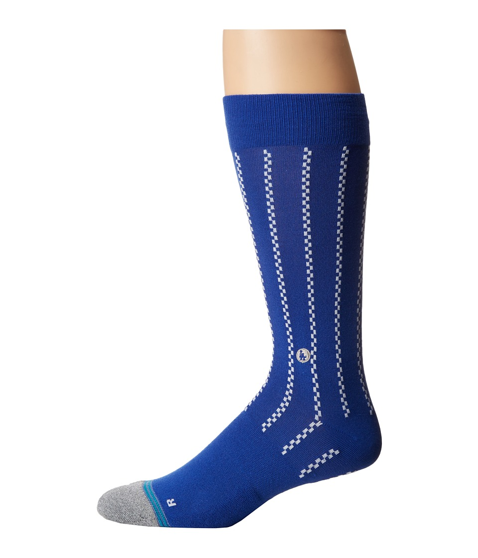 Stance - Vintage Dodgers (Blue) Men's Crew Cut Socks Shoes
