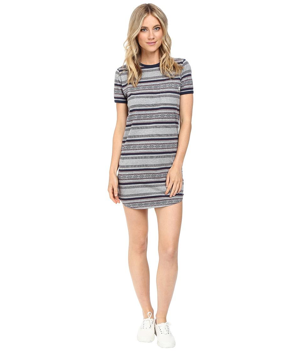 Vans - Too Fast Tee Dress (Cement Heather) Women's Dress