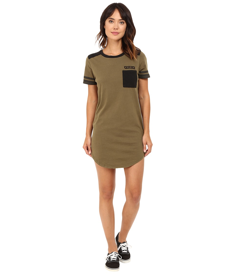 Vans - Tough Cookie Dress (Ivy Green) Women's Dress