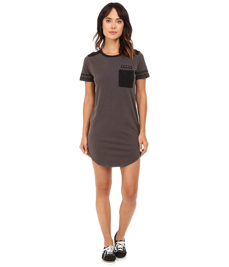 Vans - Tough Cookie Dress (Asphalt) Women's Dress