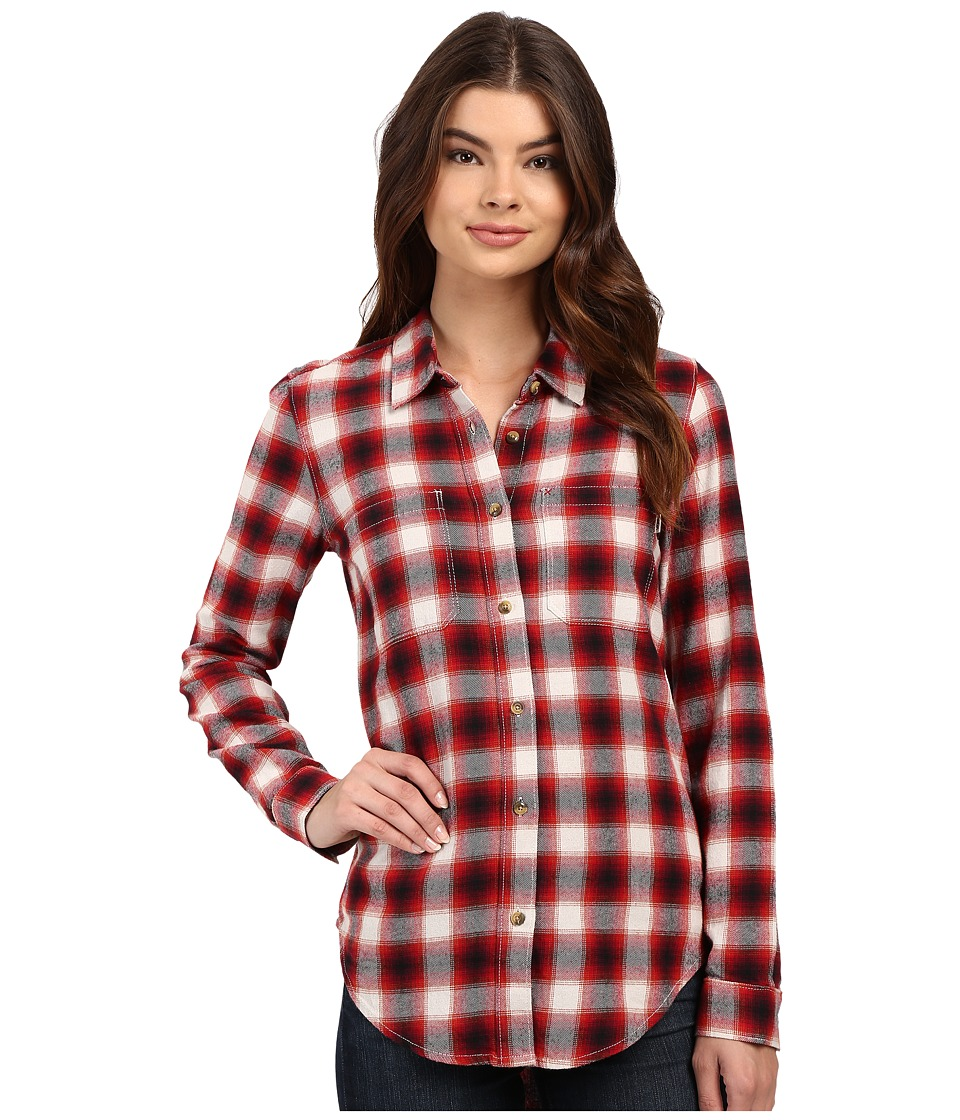 Vans - Meridian Flannel (Chili Pepper) Women's Clothing