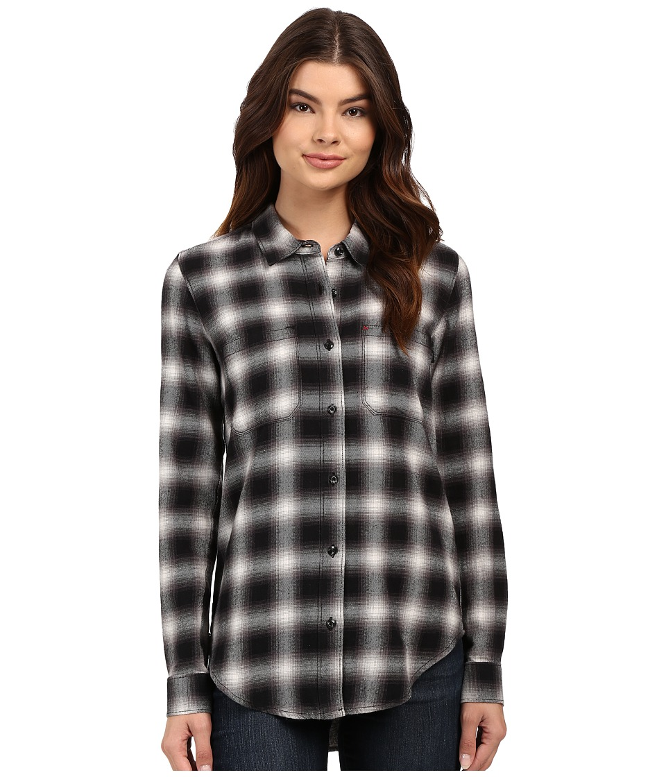 Vans - Meridian Flannel (Black) Women's Clothing
