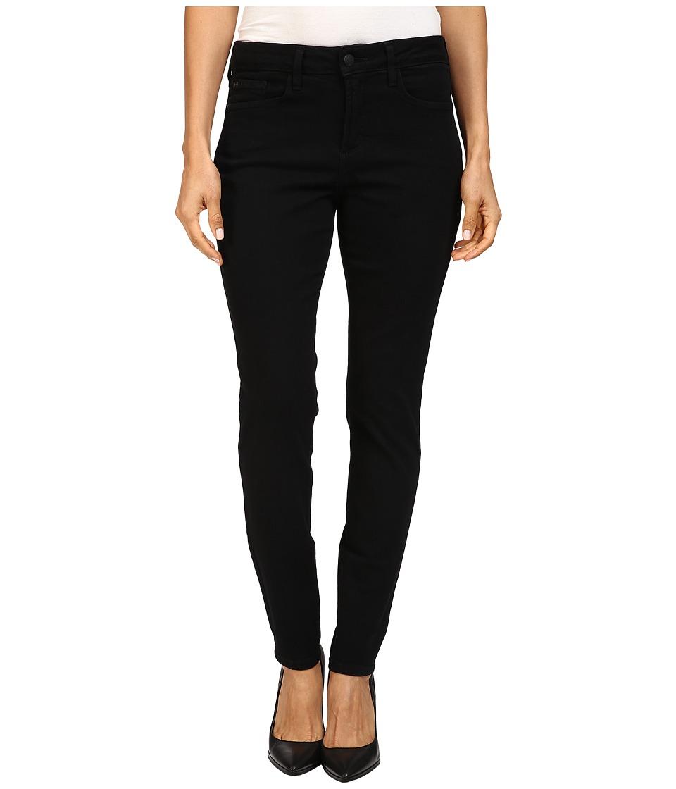 NYDJ Petite - Petite Ami Super Skinny Jeans in Black (Black) Women's Jeans