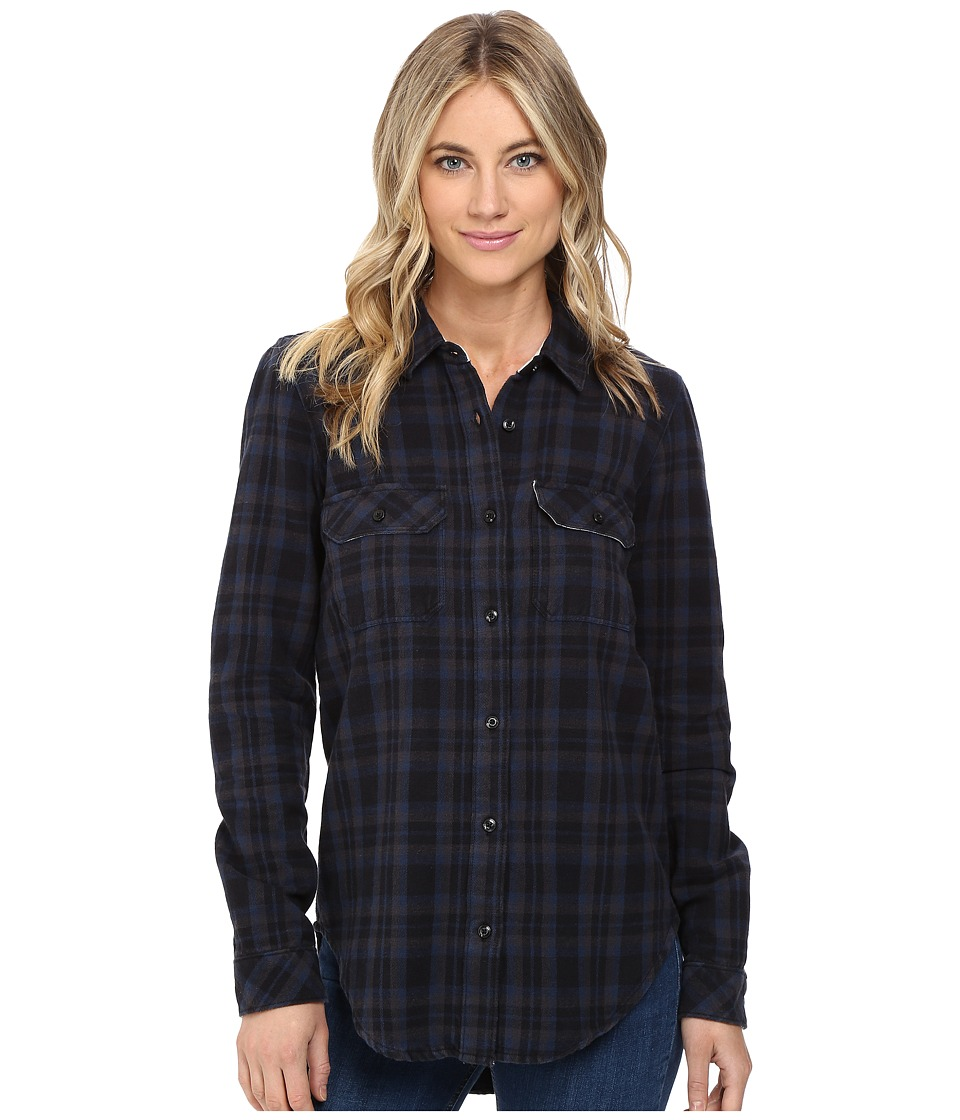 Vans - No Ones Flannel (Black) Women's Clothing