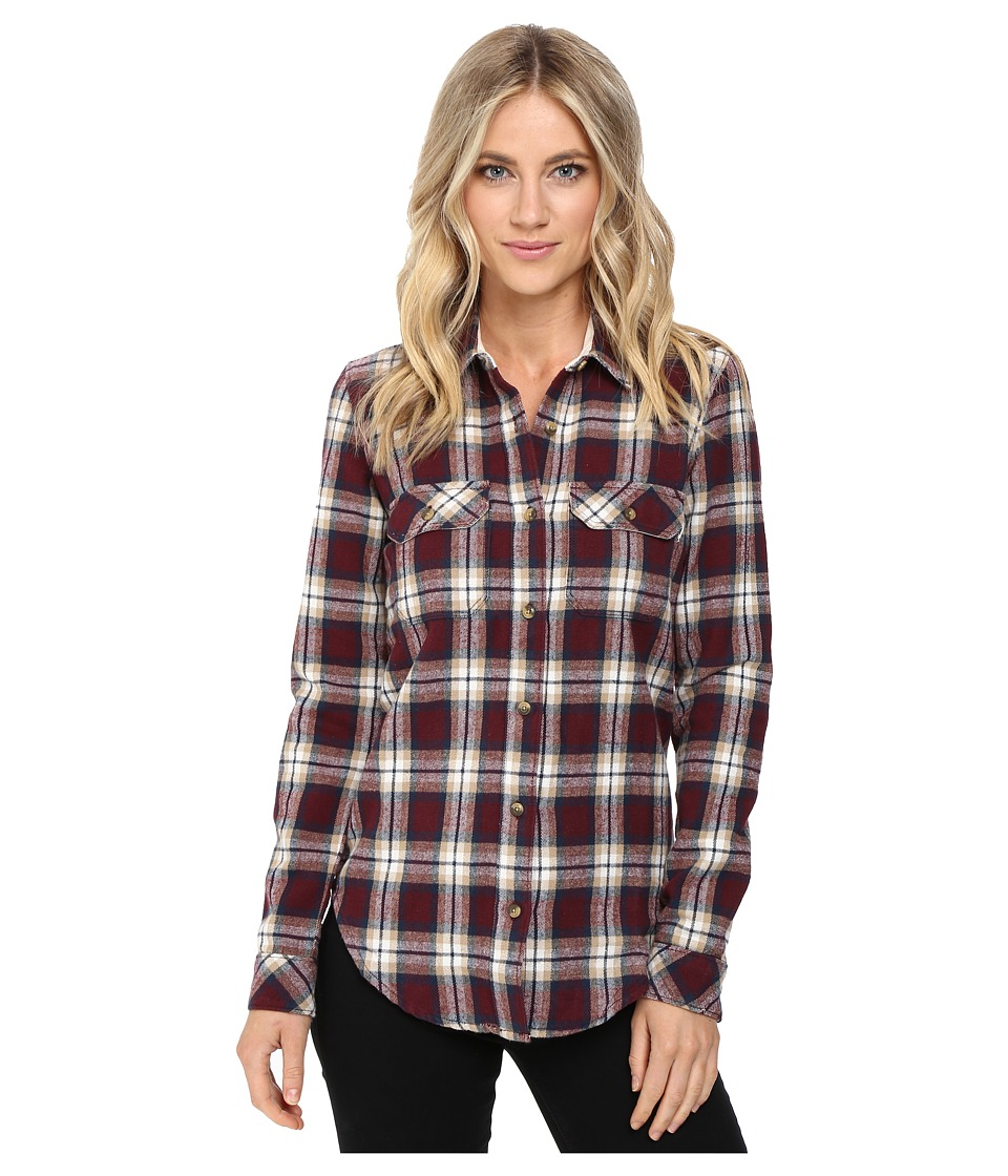 Vans - No Ones Flannel (Port Royale) Women's Clothing