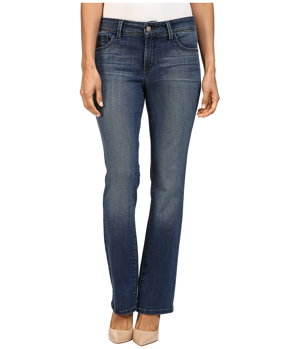 NYDJ Petite - Petite Billie Mini Bootcut Jeans in Montpellier Wash (Montpellier Wash) Women's Jeans
