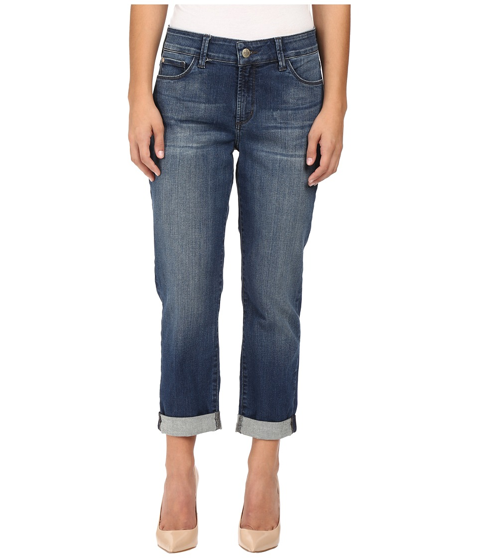 NYDJ Petite - Petite Jessica Relaxed Boyfriend Jeans in Montpellier Wash (Montpellier Wash) Women's Jeans