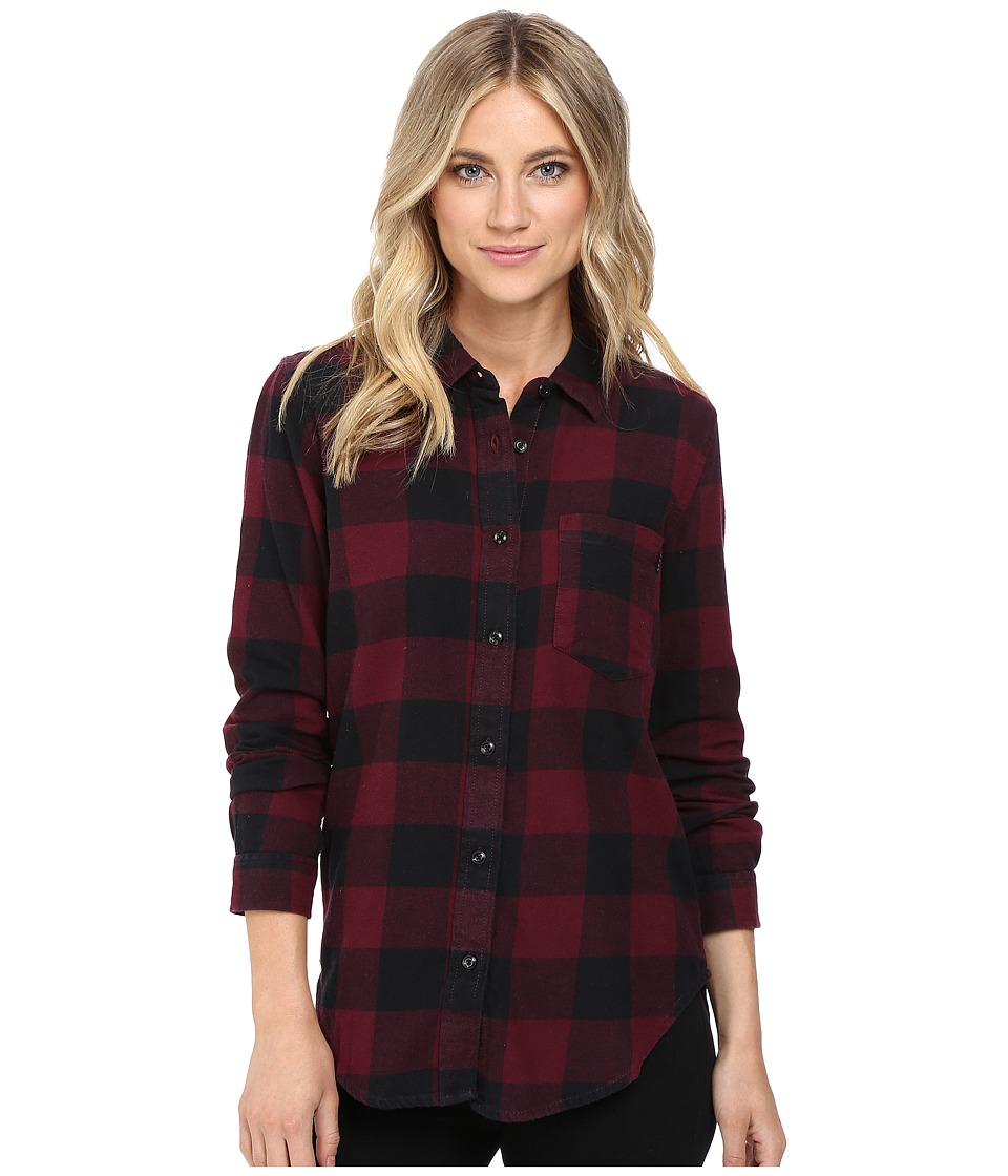 Vans - Moody Blues II Flannel (Port Royale) Women's Clothing