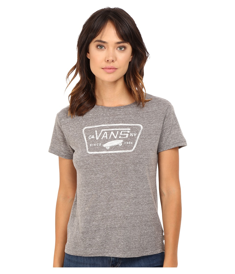 Vans - Auth Water Trap Basic (Grey Heather) Women's T Shirt