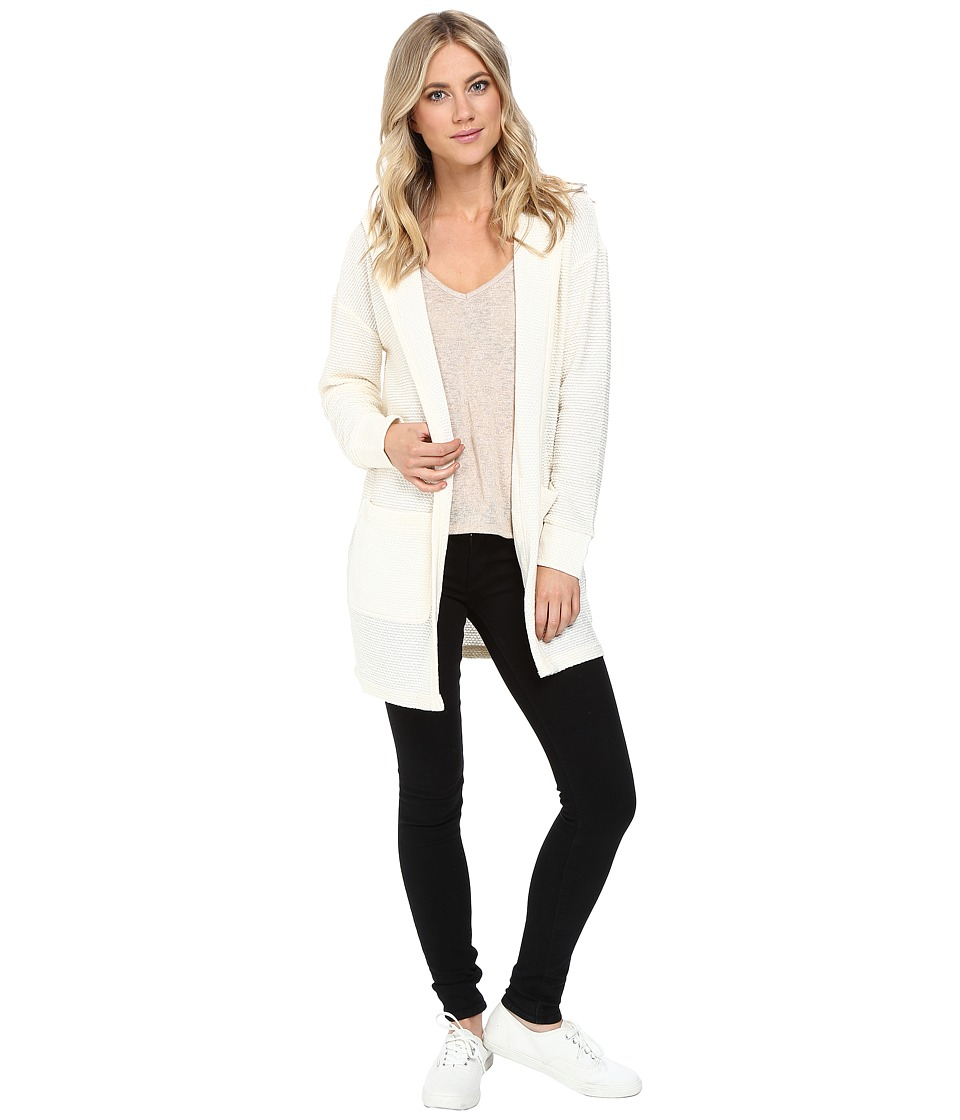 Vans - Boxkicker Cardigan (White Sand) Women's Sweater