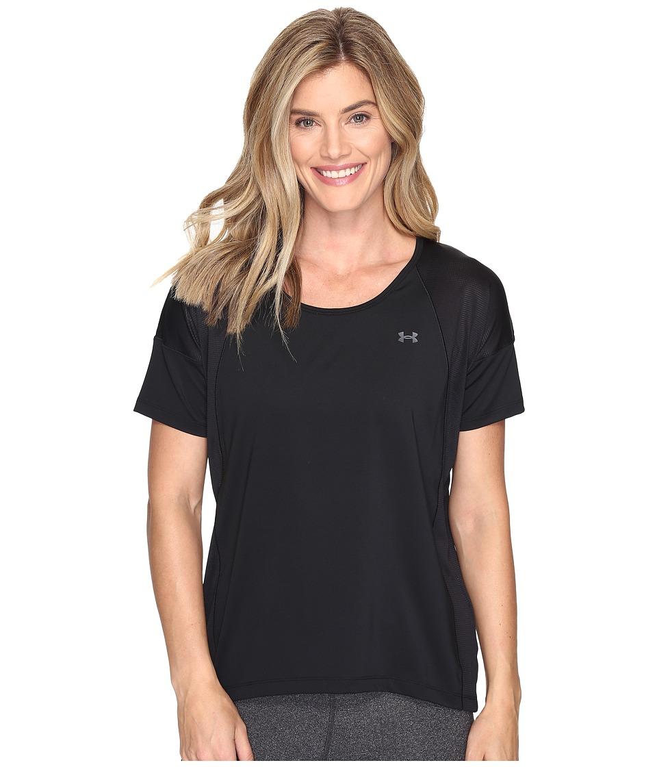 Under Armour Armour Sport Short Sleeve (Black/Black) Women