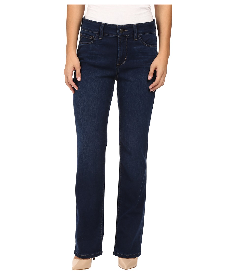 NYDJ Petite - Petite Marilyn Straight Jeans in Future Fit Denim in Provence Wash (Provence Wash) Women's Jeans
