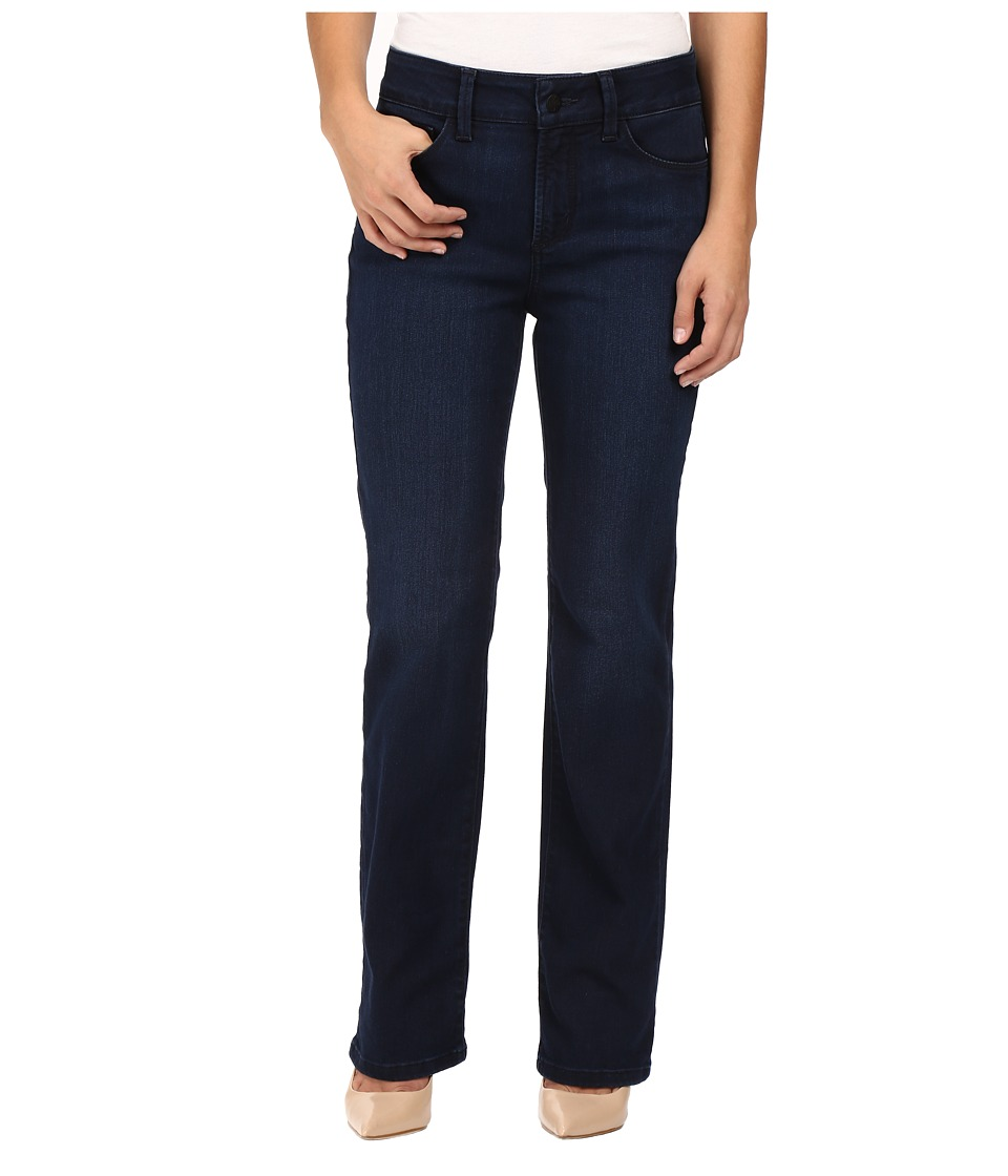 NYDJ Petite - Petite Marilyn Straight Jeans in Future Fit Denim in Paris Nights Wash (Paris Nights Wash) Women's Jeans