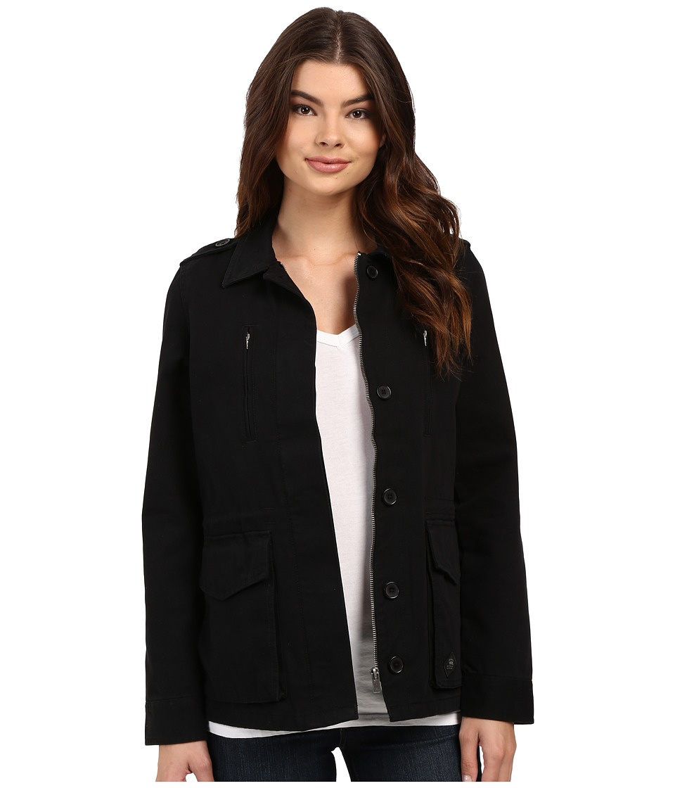 Vans - Foundation Jacket (Black) Women's Coat