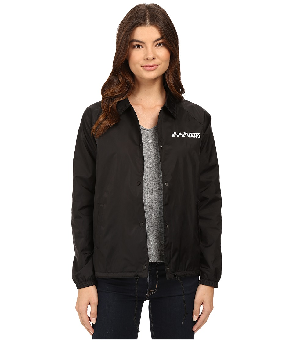 Vans - Thanks Coach Jacket (Black) Women's Coat