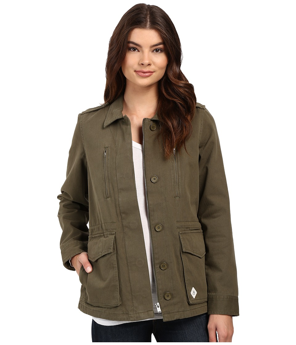 Vans - Foundation Jacket (Ivy Green) Women's Coat