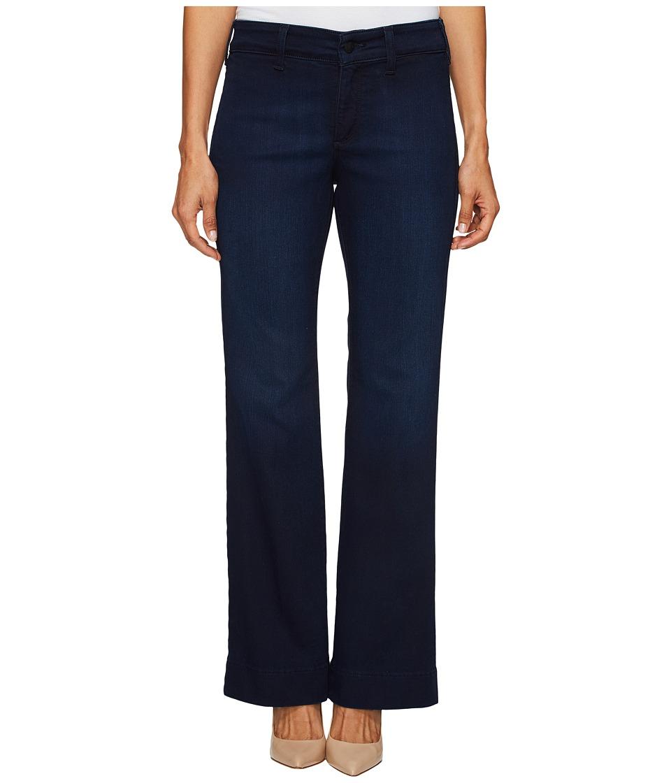 NYDJ Petite - Petite Teresa Modern Trouser Jeans in Future Fit Denim in Paris Nights Wash (Paris Nights Wash) Women's Jeans