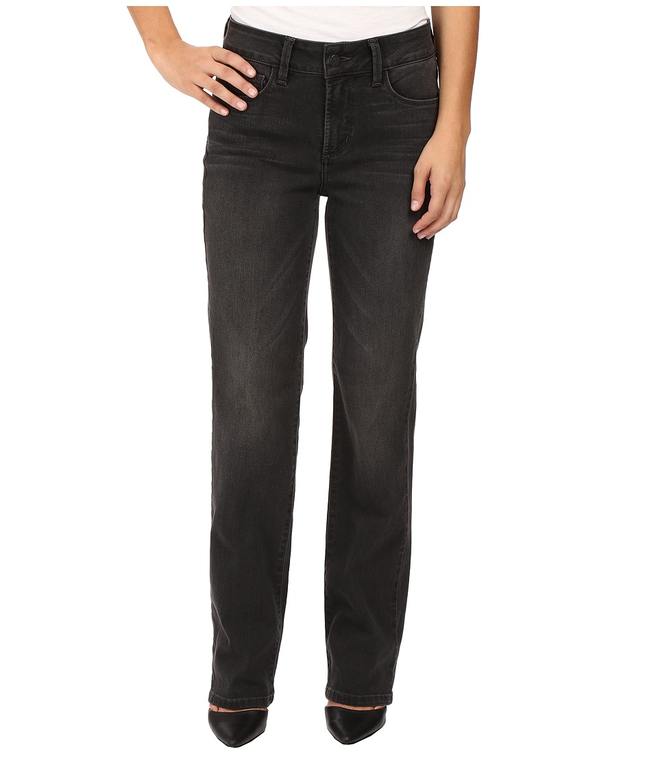 NYDJ Petite - Petite Marilyn Straight Jeans in Future Fit Denim in Kensington Wash (Kensington Wash) Women's Jeans