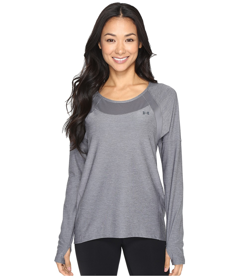 Under Armour Armour Sport Long Sleeve Twist (Graphite/Graphite) Women