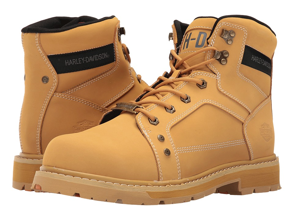 Harley-Davidson - Keating (Wheat) Men's Boots