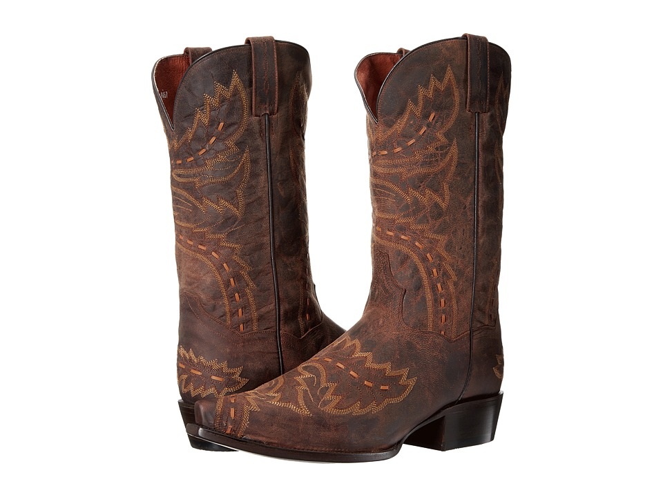Dan Post - Sidewinder 13 (Brown) Cowboy Boots