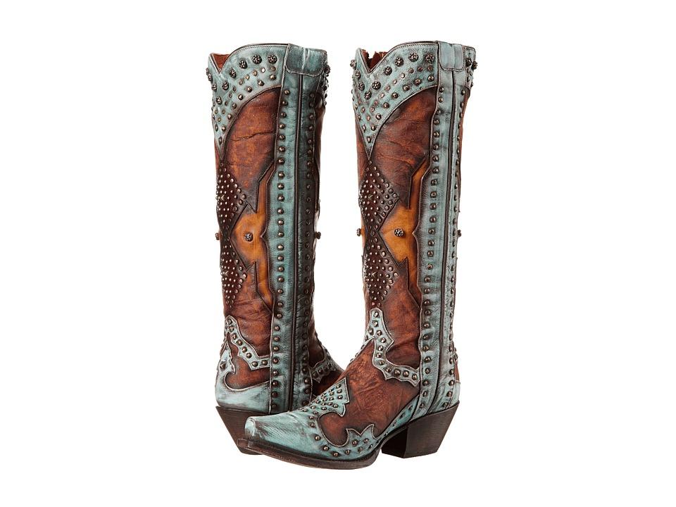 Dan Post - Natasha (Turquoise) Cowboy Boots