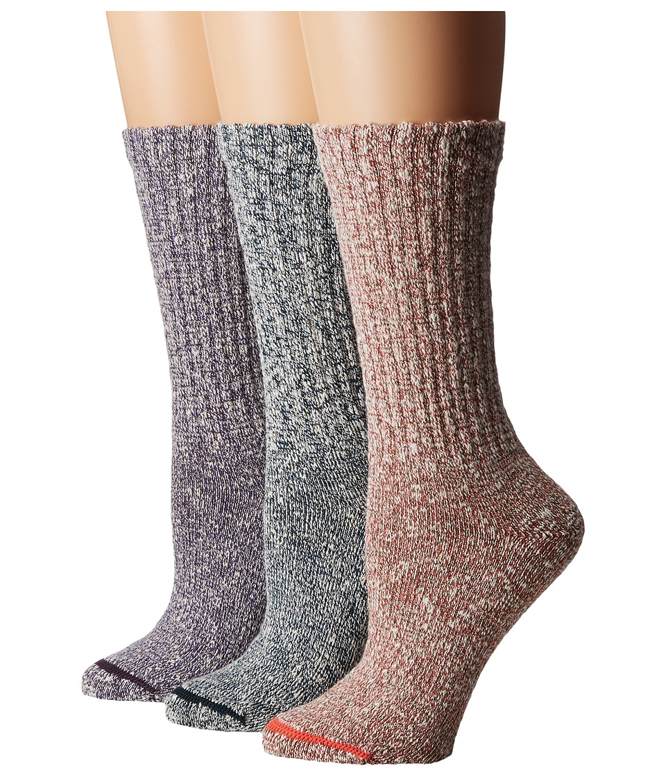 Merrell - Stowe Crew Socks 3-Pair Pack (Multi Pop) Women's Crew Cut Socks Shoes