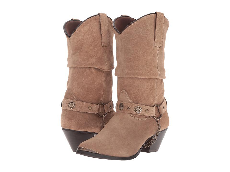 Dingo - Olivia (Brown) Cowboy Boots