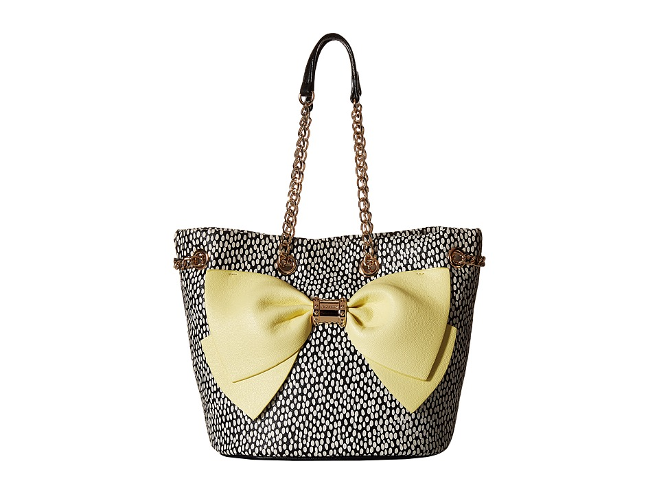 Betsey Johnson - Hopeless Romantic Bucket (Yellow) Satchel Handbags