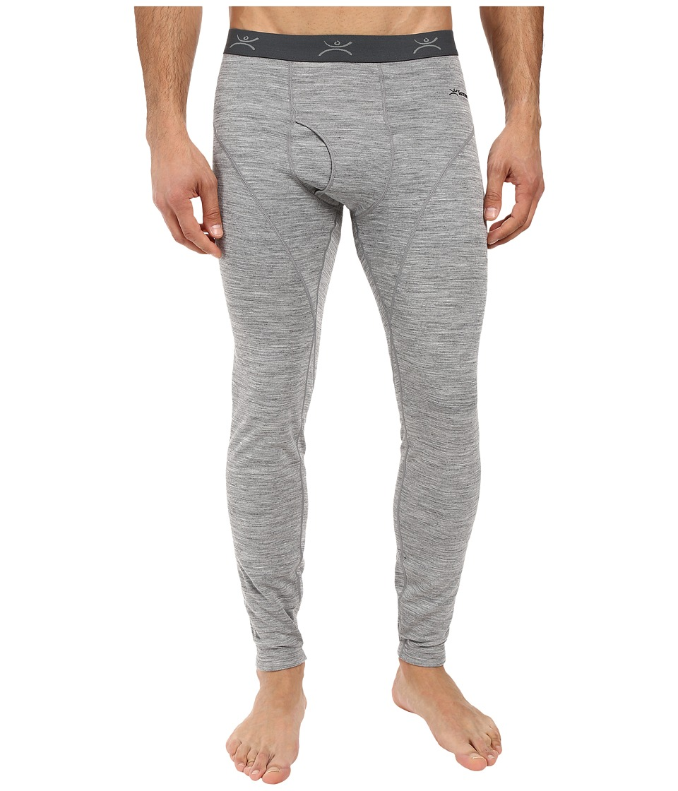 Terramar - Thermawool Climasense Pants (Light Heather Grey) Men's Clothing