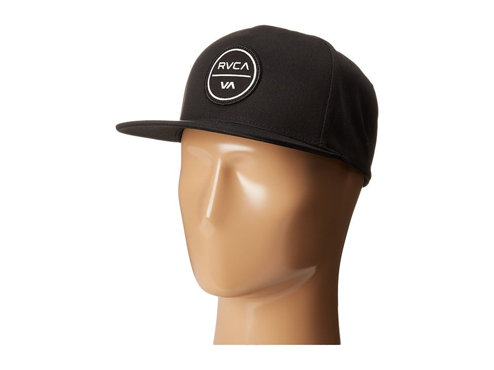 RVCA - Shelter Five Panel Hat (Black) Caps