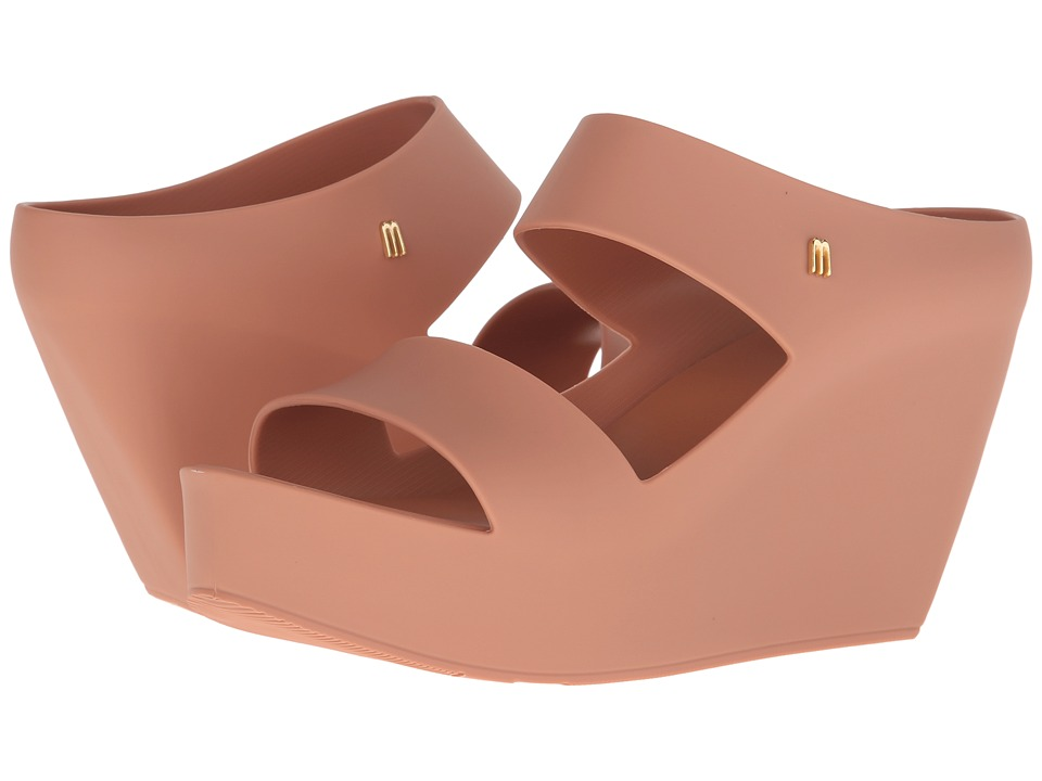 Melissa Shoes Creative Wedge (Brown) Women