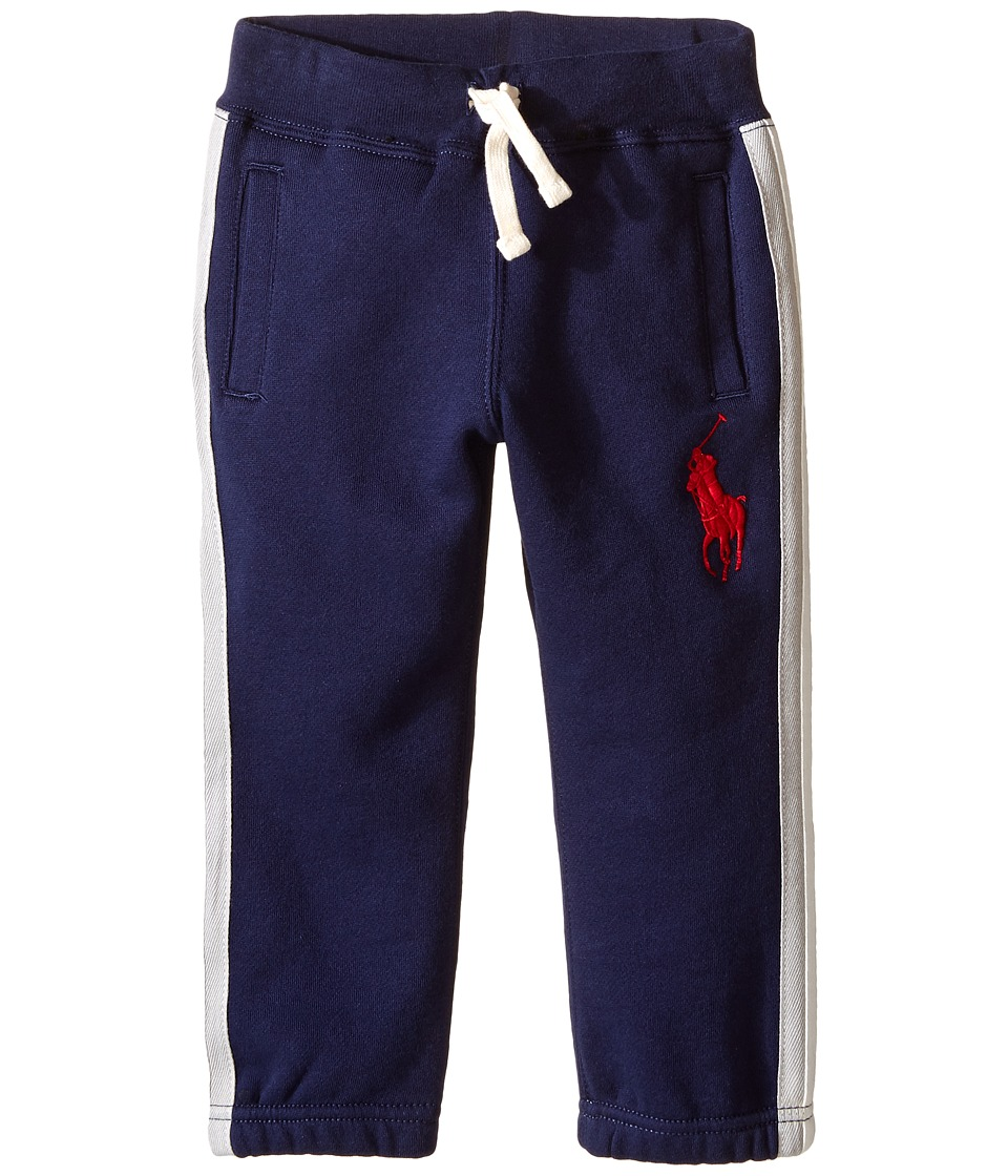Polo Ralph Lauren Kids - Seasonal Fleece Pants (Toddler) (French Navy) Boy's Casual Pants