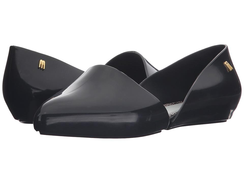 Melissa Shoes - JW + Christy (Black) Women's Shoes