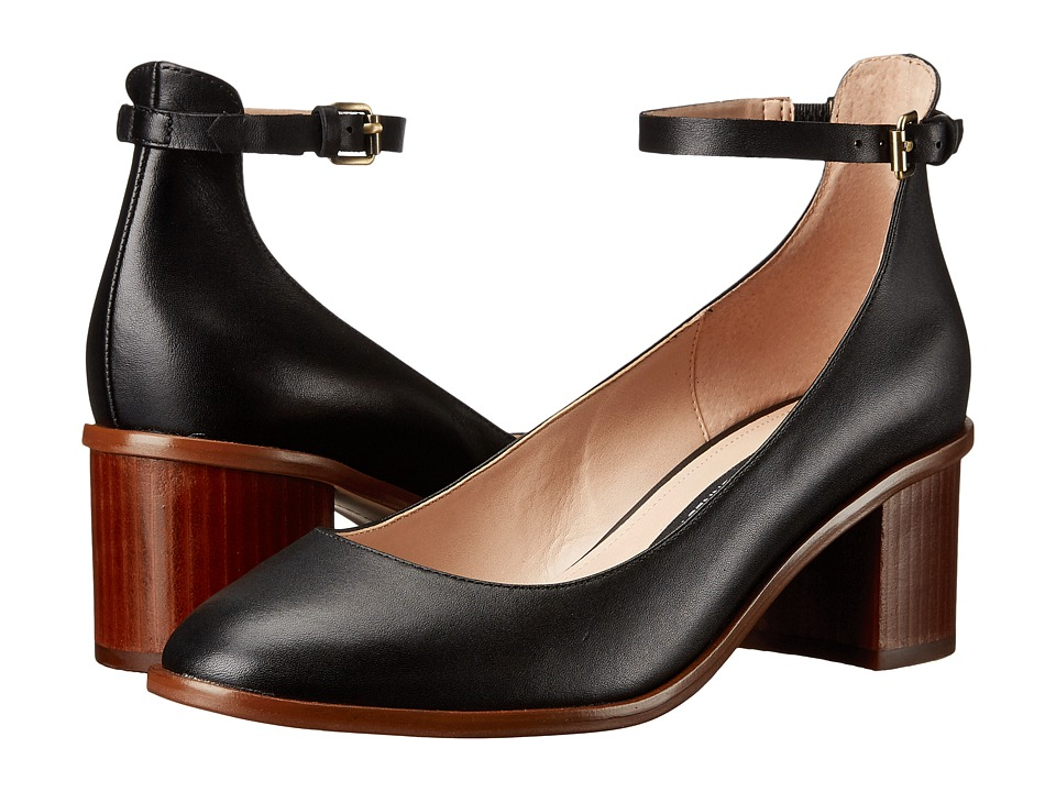 French Connection - Clemena (Black Native Leather) Women's Shoes