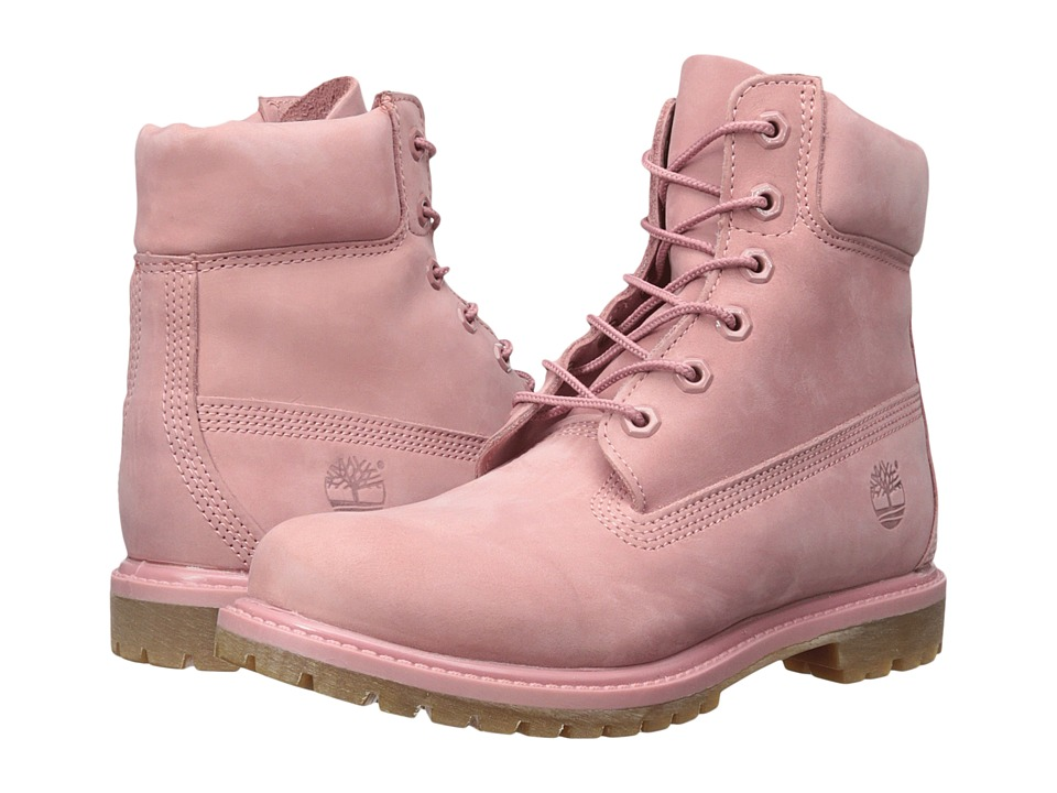 Timberland - 6 Premium Boot (Dusty Rose) Women's Shoes
