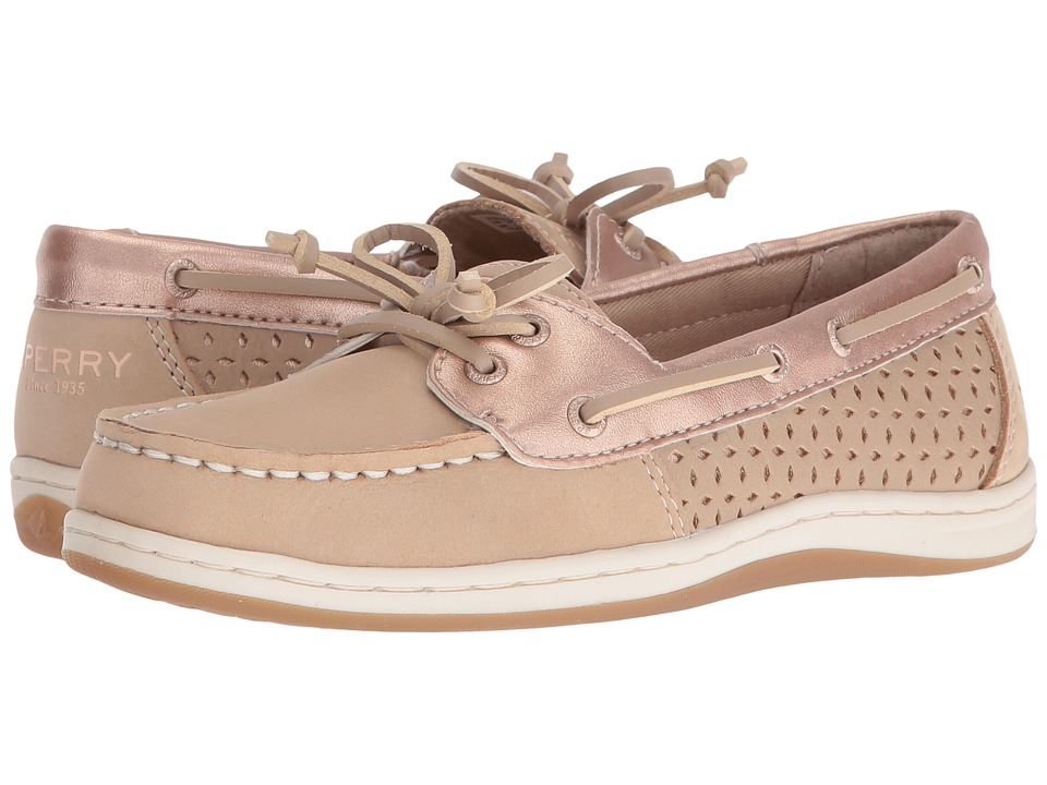 Sperry Kids - Firefish (Little Kid/Big Kid) (Silver Cloud/Rose Gold) Girl's Shoes