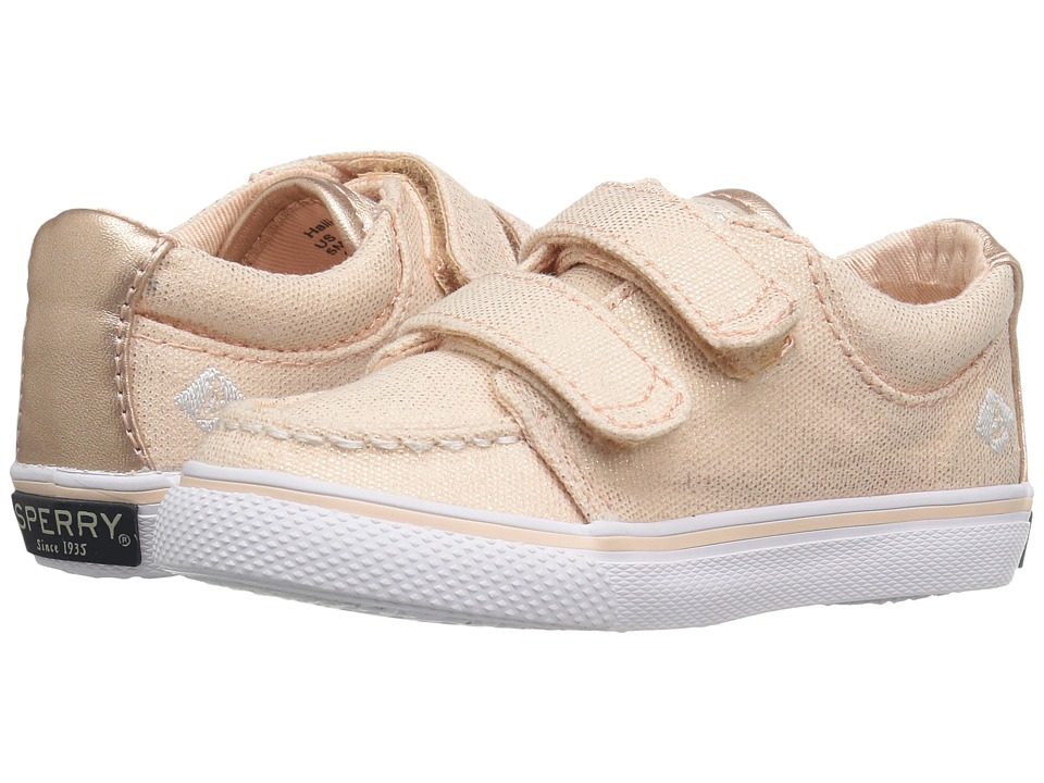 Sperry Kids - Hallie HL (Toddler/Little Kid) (Rose Gold) Girls Shoes